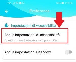 Unseen app : impostazioni accessibilità per leggere messaggi whatsapp