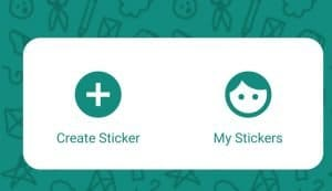 creare sticker per whatsapp - menu wemoji